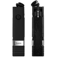 Палка для селфи K3 Beauty wire controllable selfie stick черный