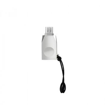 OTG адаптер micro USB HOCO UA10 Micro-USB OTG adapter никель