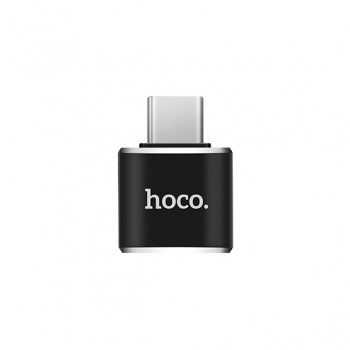Адаптер Нoco UA5 Type-C to USB converter черный
