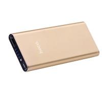 Дополнительный аккумулятор HOCO B16-10000 Metal surface Power bank золото