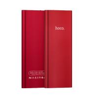Дополнительный аккумулятор HOCO B16-10000 Metal surface Power bank красный