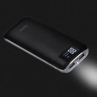 Дополнительный аккумулятор HOCO B23A-15000 flowed power bank черный