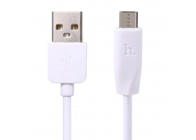 USB кабель micro HOCO X1 Rapid charging cable Micro 1M белый