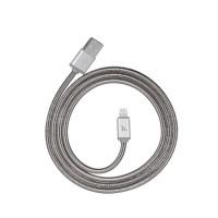 USB кабель Lightning HOCO U5 Full-Metal Charging cable for lightning серебро