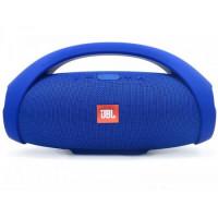 Портативная стерео колонка Bluetooth Boombox Big синяя