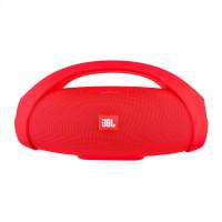 Портативная стерео колонка Bluetooth Boombox Big красная