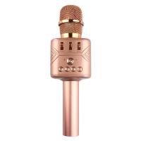 Караоке микрофон Bluetooth MD-03 розовый