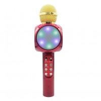 Караоке микрофон Bluetooth WS-1816 красный